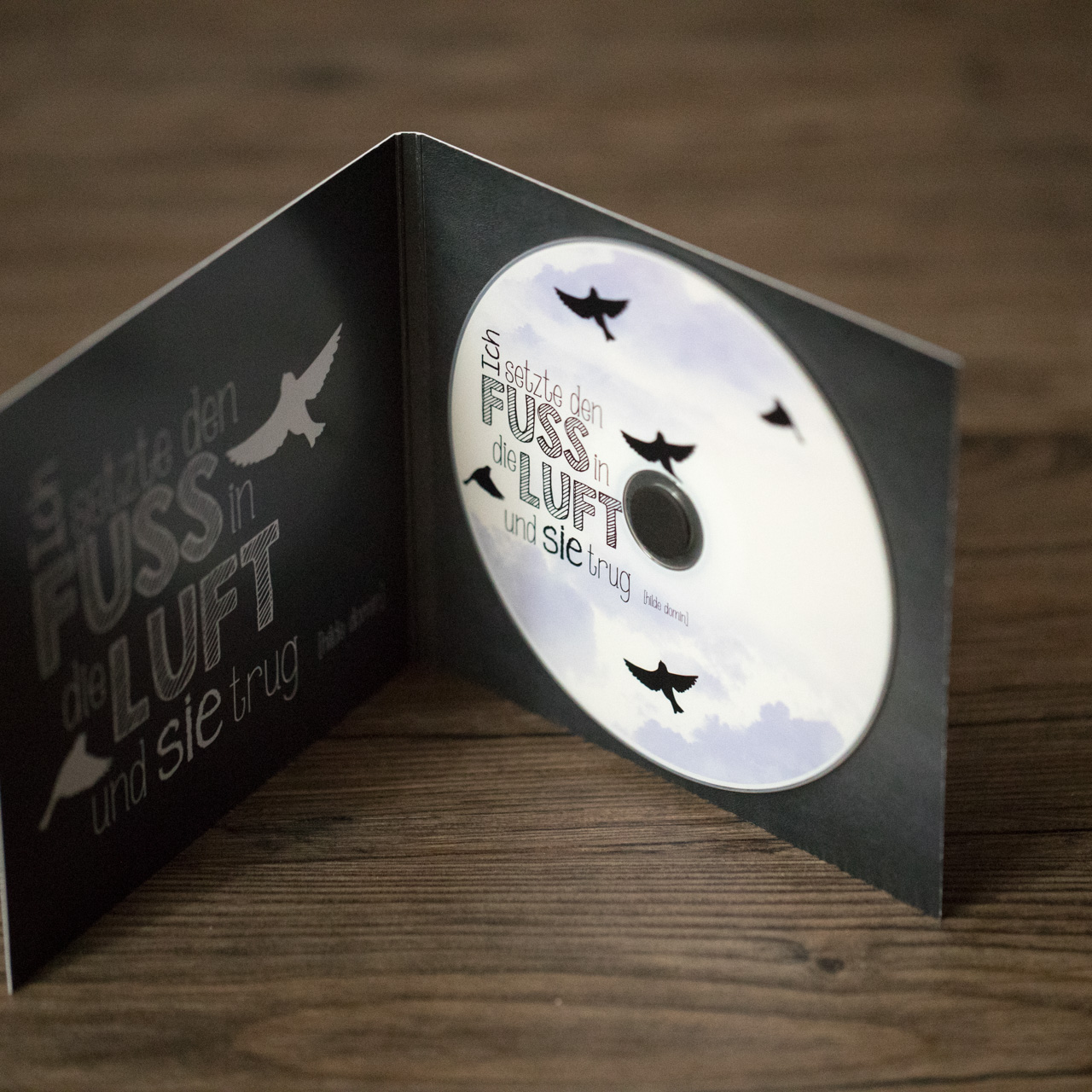 DVD Hülle incl. bedrucktem Rohling